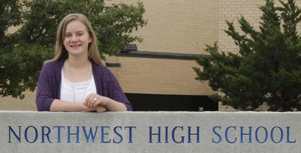 Senior Emma Wingert named National Merit Scholar Semi Finalist