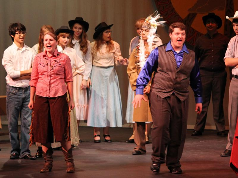 """Annie Get Your Gun"" performance a success"