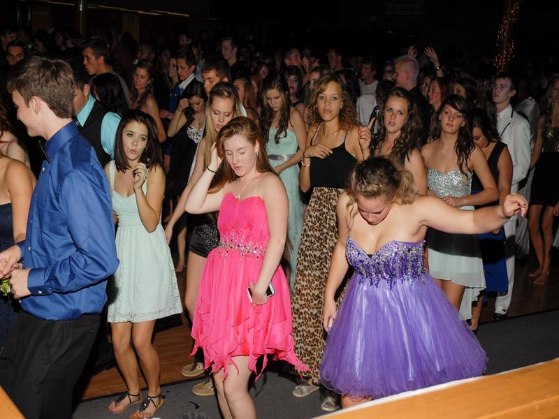 Fall Homecoming Dance