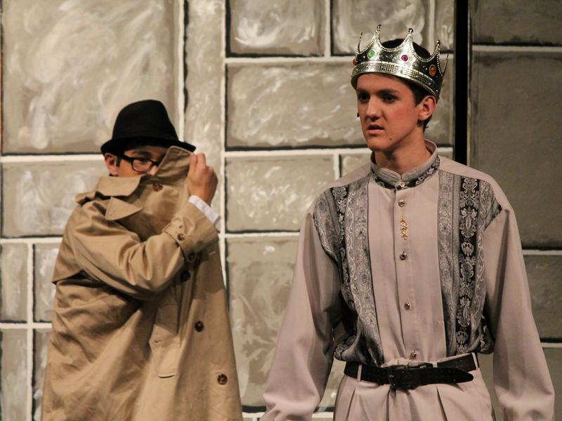 One acts highlight drama students' humorous side