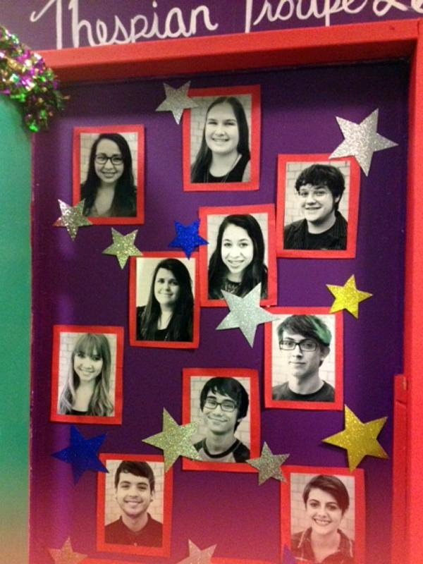Members of the Thespian troupe were put on display at the Thespian Conference.