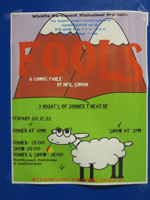 Fools, A Northwest Drama Production