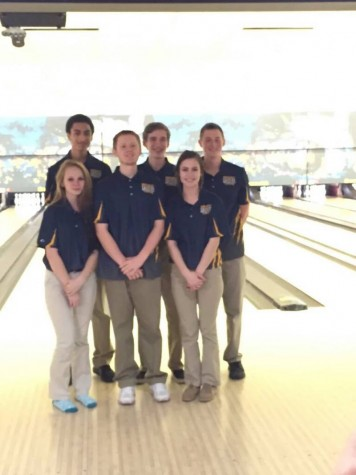 The Northwest bowlers after winning a tournament.