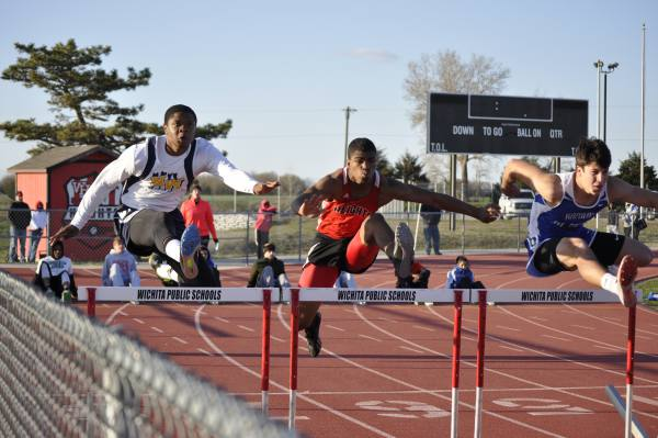 Heights track meet