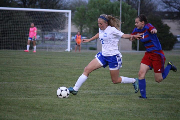 Emily Jensen puts the moves on South highs #14