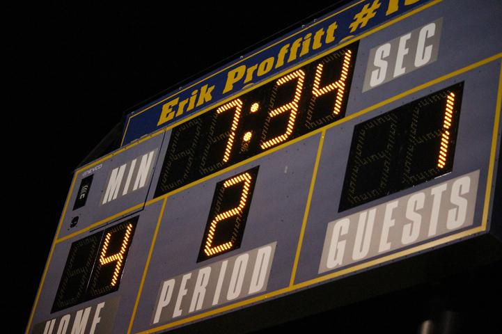 The score of the game Northwest v.s South