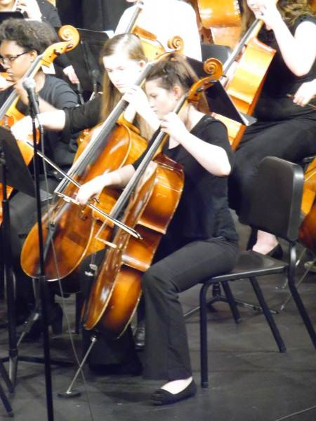 Freshman Ashleigh, and Dr. Leopolds' orchestra played songs from star wars, and the incredibles.