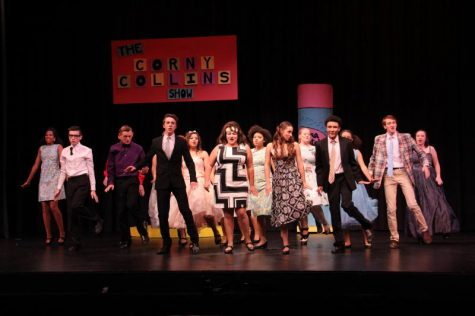 The drama department preforming their final song.
