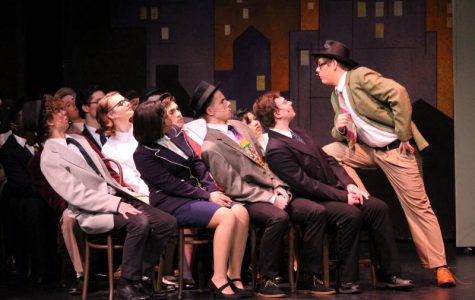 """Drama department hosts annual musical: """"Guys and Dolls"""""""