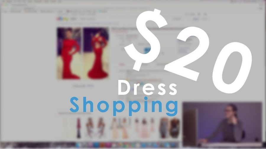 BUYING PROM DRESSES OFF OF EBAY (1 OF 3)
